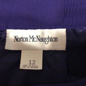 Norton McNaughton Skirts - Purple pencil skirt